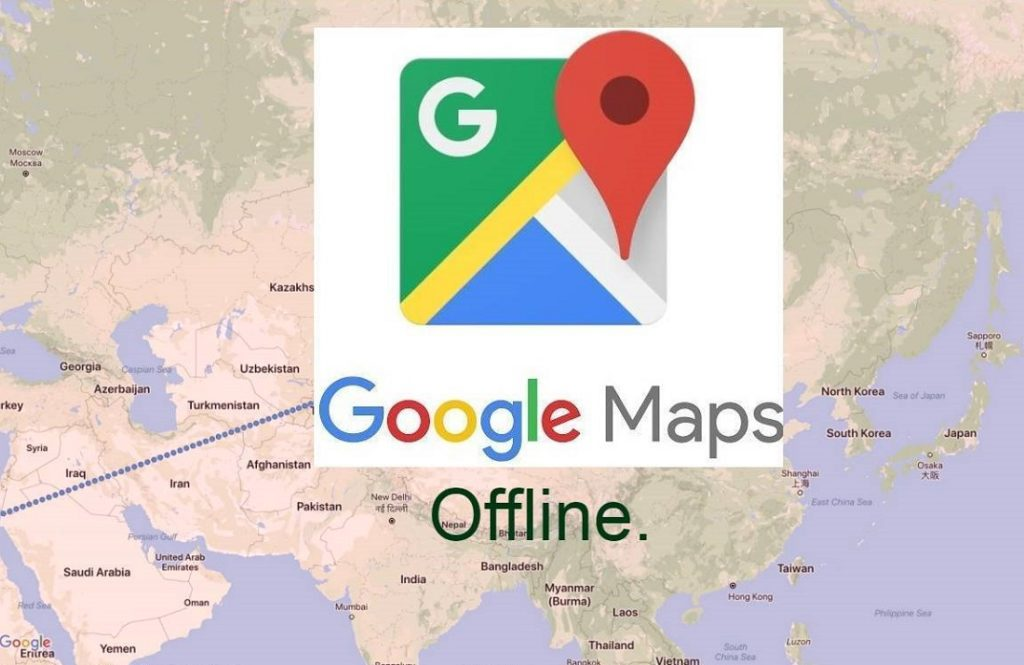 Với Google map bạn có thể sử dụng ngay cả khi ngoại tuyến.